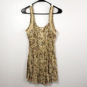 Mine Women's Floral Tank Top Size Med